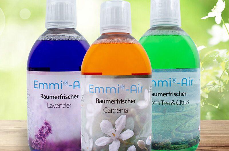 Emmi-Air Raumerfrischer in 3 Duftnoten